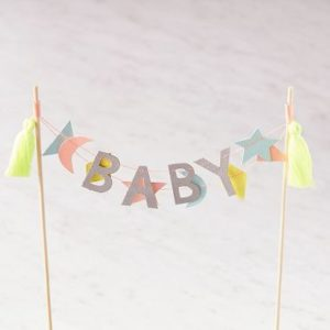 Cake topper baby. Lmdi Party