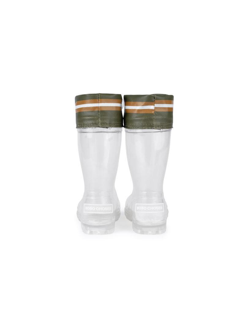 botas de agua transparentes BOBO CHOSES
