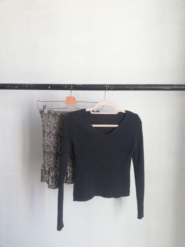jersey canale negro y marron
